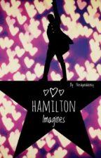 Cliché Hamilton Imagines by nerdyanddisney