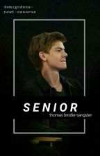 Senior - thomas sangster  by blurrxface