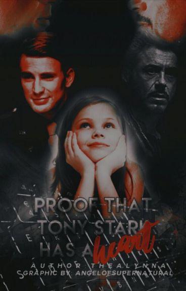 Proof That Tony Stark Has a Heart [StevexTony AU]