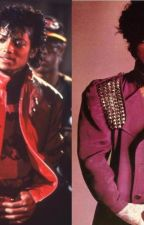 Michael Jackson & Prince Imagines by purpleapplehead
