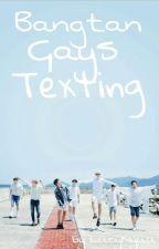 Bangtan Gays Texting by Kookie_not_Cookie
