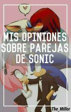 Mis opiniones sobre algunas parejas de Sonic by The_Millor