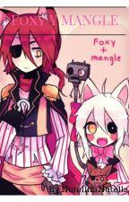 Foxy y Mangle by _Mirlo_Arcoiris_