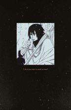 Lagrimas de papel Sasuke Uchiha by DaimantKartMay