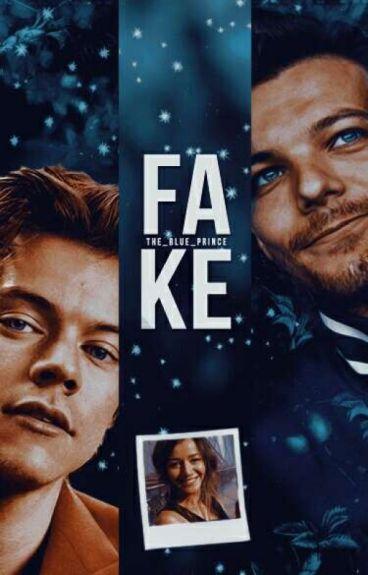 Fake. [Texting Larry]