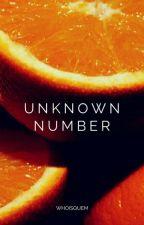 Unknown Number | jjk - pjm by whoisquem