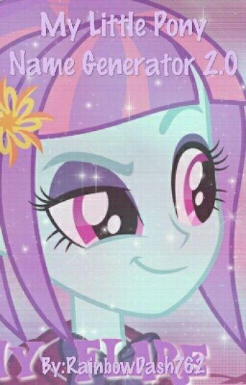 My Little Pony Name Generator 20 Liannabunny777 Wattpad