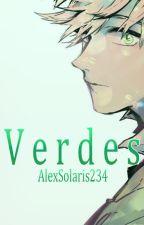El chico de ojos verdes. by AlexSolaris234