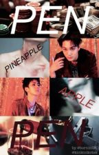 PEN PINEAPPLE APPLE PEN by hansoltheforehead
