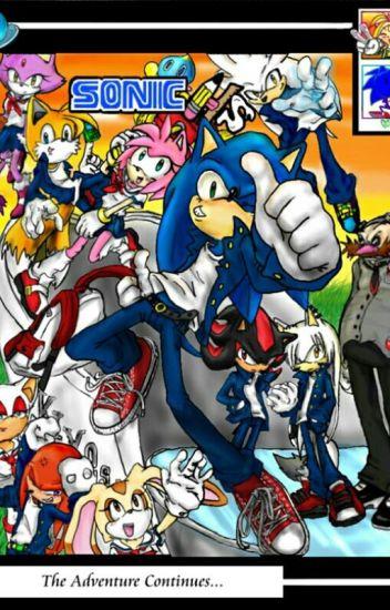 Sonic high school love story Rp