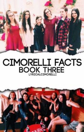 Cimorelli Facts // Book Three