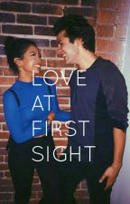 Love at first sight. DavidxLiza (COMPLETED) by tylerrrhhoesph