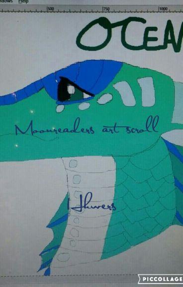 Moonreaders art scroll (Art Book #8)