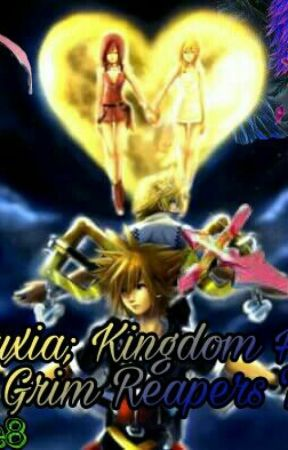 Marluxia ; Kingdom Hearts (The Grim Reaper's Tale ) by iceBlue8