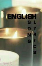 English Songs LYRICS by inseosJINU