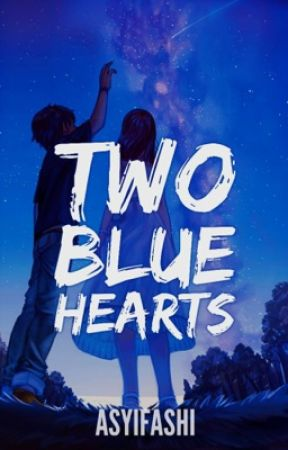 Two Blue Hearts by Asyifashi
