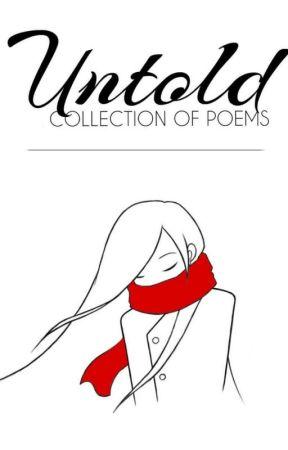 Untold  by jacennth