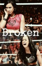Broken || AJ Lee by arianahasamigraine