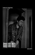 boys talk boys ( PAPER TOWNS. ) by pinkchamqagne