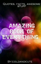 Awesome Book Of Everything by NoEavesdropping