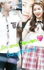BTS Jin and GFriend Sowon [OG] by btsgfriend34