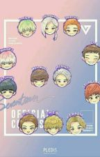 seventeen chatroom by mingyuslonglegs