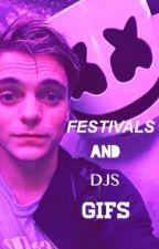 Festivals and dj's gifs! by LITTLEGarrixJordan