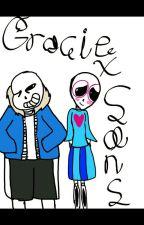 Sans x Gracie by JokesIntensifying