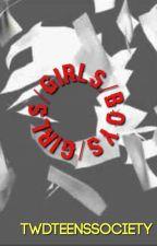 Girls/Girls/Boys ↝ FANFIC REVIEWS by twdteenssociety