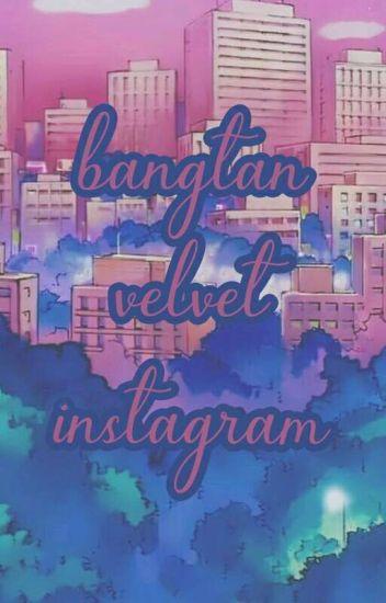 bangtan velvet instagram