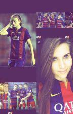 Una Chica Entre Nosotros 《FC Barcelona》 by Alexamessi