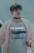  edit   kookv   jjk-kth  my queen by _kookfv_