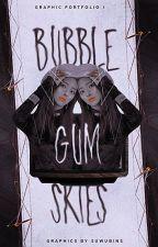 bubblegum skies | graphic portfolio by suwubins