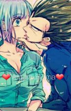 DBZ ❤VegetaxBulma❤ by ZiggyWolf