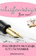 Schrijfwedstrijd by Dutchstorylover_