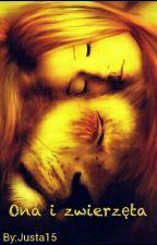 Ona i zwierzęta by Justa15