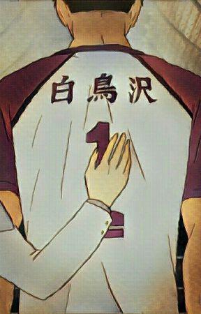 Behind a strong man [Ushiwaka /Oc] by NightOwlIvy