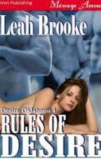 Série Desire/Oklahoma 4- Regras do Desejo by ThaynannSousa