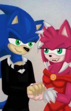 SonAmy: Handsome and the Pink Werehog by GothNebula