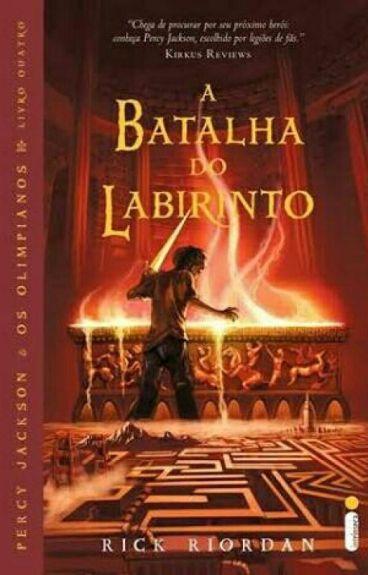 Percy Jackson Vol.4 -Batalha do Labirinto -