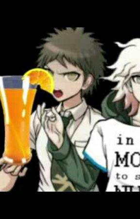 Danganronpa On Crack Komaeda X Bagel X Orange Juice Wattpad