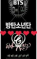 BTS X GFRIEND ROMANCE by PrincessJin_92