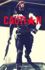 CAUTION || Bucky Barnes || by _smokey