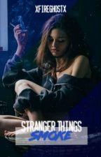 Smoke | J. Byers | STRANGER THINGS by xFireGhostx
