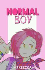 normal boy ☺; felibon「#FNAFHS」© by -rxbecca-