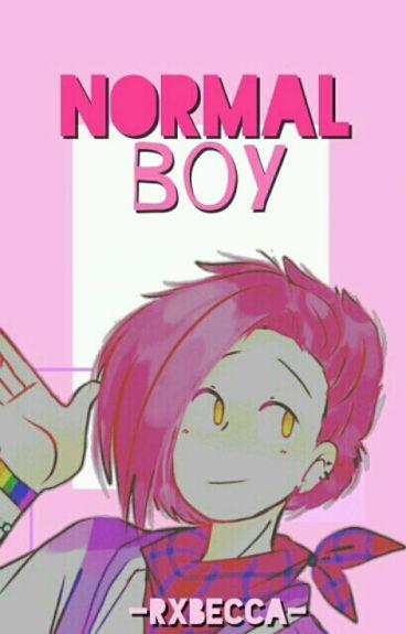 normal boy ☺; felibon「#FNAFHS」©