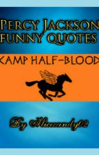 Percy Jackson funny quotes by Alicecandy02