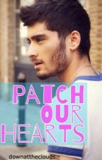 Patch Our Hearts  by downattheclouds