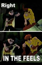 Young Justice Texts and Memes Volume 2 by CHL_Milligan