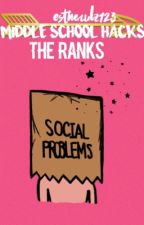 Middle School Hacks: The Ranks  by estherulz123